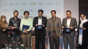 مراسم تجلیل از شرکتکنندگان در نمایشگاه جانبی کنفرانس